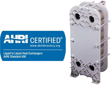 Gasketed AP AHRI Certified Plate & Frame Heat Exchangers