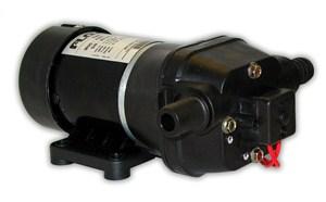 Quad DC Pressure Controlled Pump