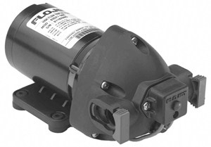 Triplex Hi-Flow Electric Diaphragm Pump