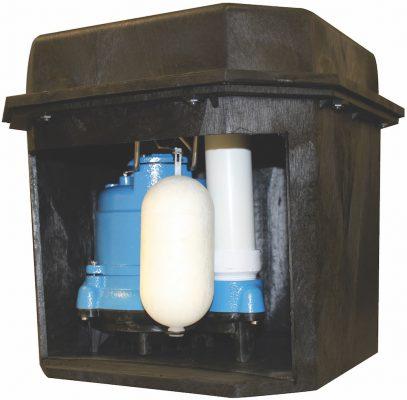 G-Cube Sump Pump Basin Package