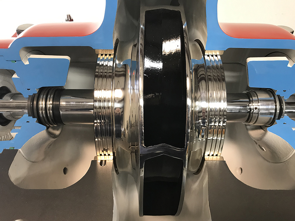 seal chamber cutaway